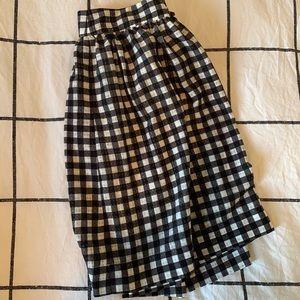 UO Gingham Skirt